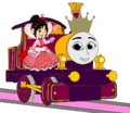 Princess Lady with Princess Vanellope and her Crown.png