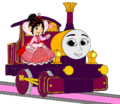 Lady with Princess Vanellope.png