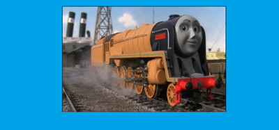 Murdoch in Thomas and Friends the Magical Railroad Adventures
