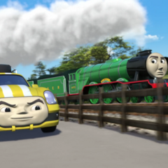 Flying Scotsman with Ace