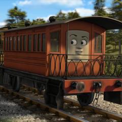 Henrietta with a face
