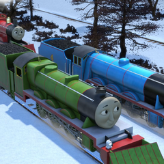 Henry with Gordon and James