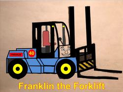 NewFranklinTheForklift