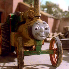 Trevor in his scrapped livery