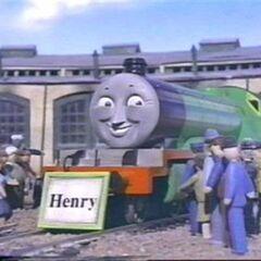 Henry's rare nameboard
