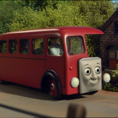 Bertie with a CGI face