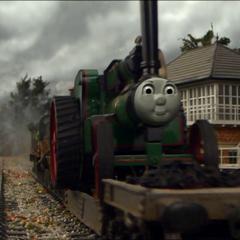 Trevor with a CGI face