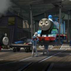 Victor with Thomas