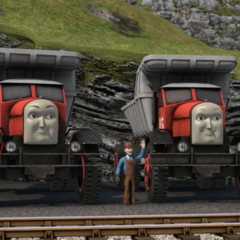 Max and Monty in CGI