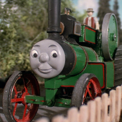 Trevor in his new livery