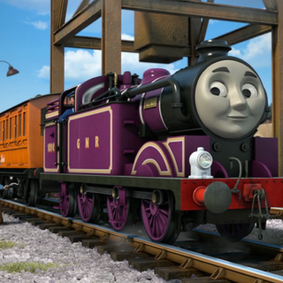 Ryan with Annie and Clarabel
