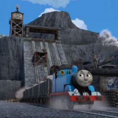 Owen with Thomas