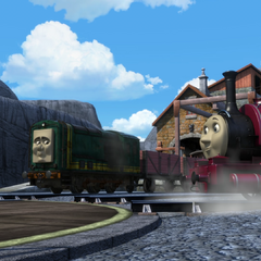 Skarloey with Paxton