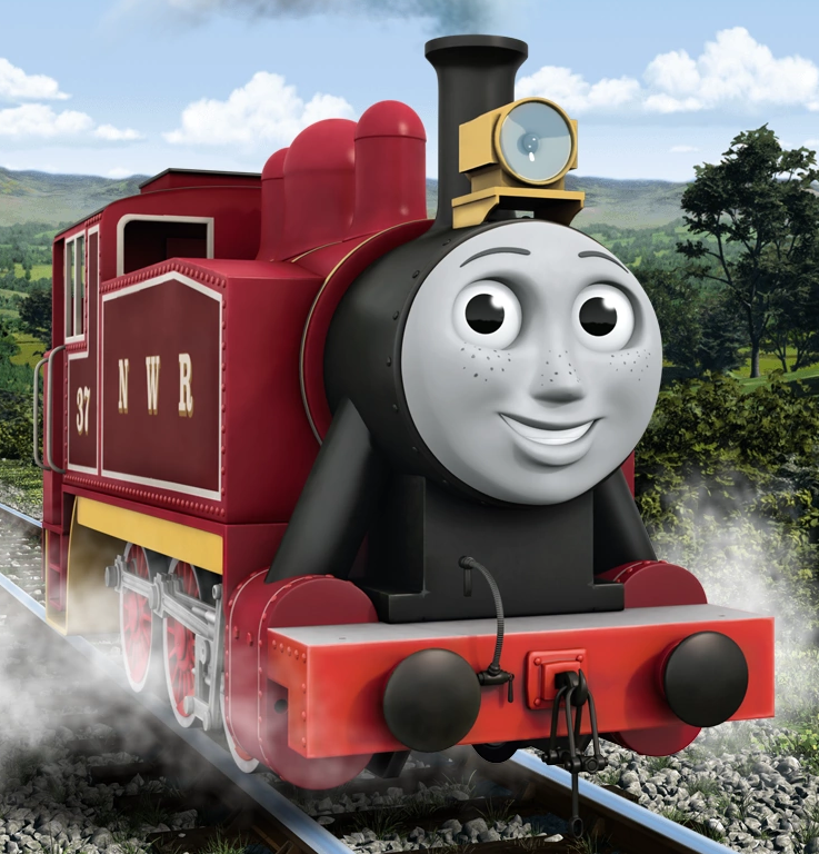 Image result for rosie the tank engine
