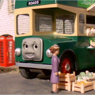 Bulgy as a vegetable stand