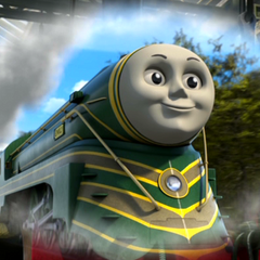 Emily as a streamlined engine