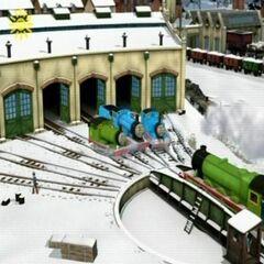 Henry in CGI
