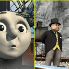 James and the Railway Inspector