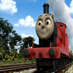 James in CGI
