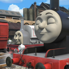 Stanley with James