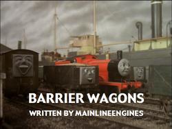 BarrierWagons