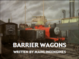 Barrier Wagons