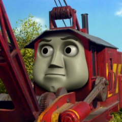 Rocky with a CGI face