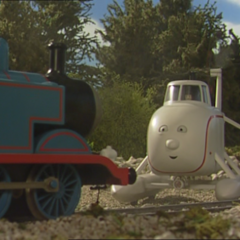 Harold with Thomas