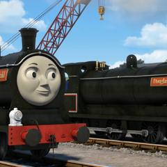 Donald and Douglas in CGI