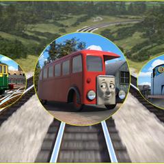 Bertie Rides the Rails