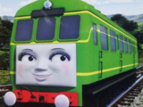 Daisy the Green-Eyed Railcar