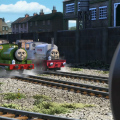 Stanley with Percy