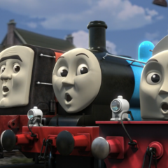 Edward with Norman and Stanley