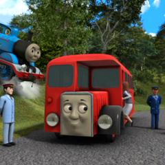 Bertie with Thomas