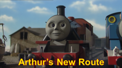 ArthursNewRoute