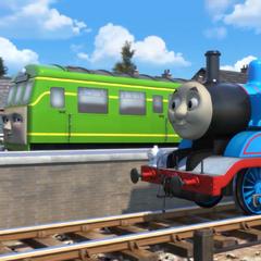 Daisy with Thomas