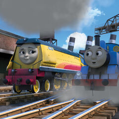 Rebecca with Thomas