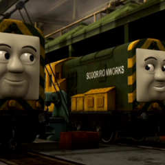 'Arry and Bert in CGI