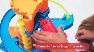 Twist-n-Turn Stunt Set demonstration