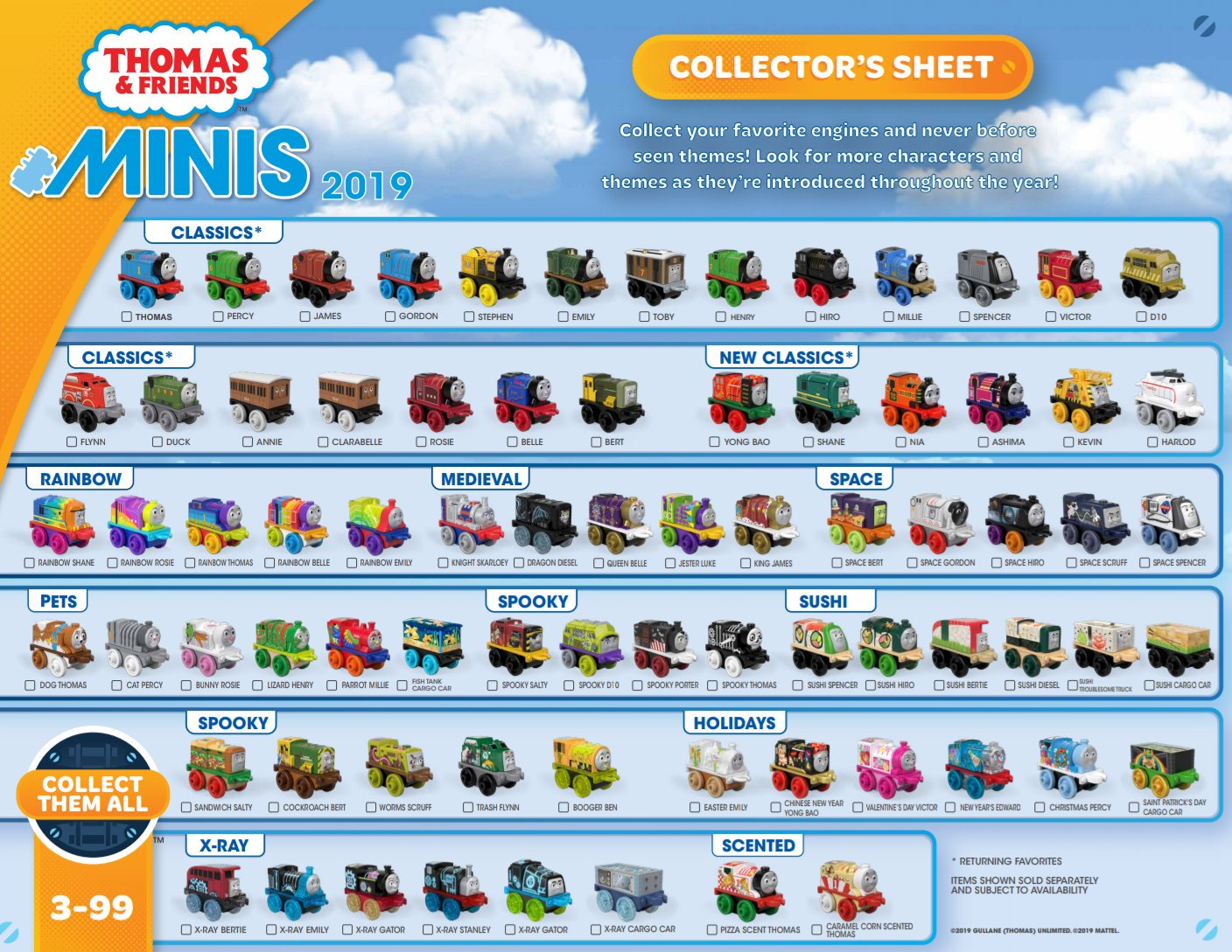 2019 Series | Thomas and Friends MINIS Wiki | FANDOM powered