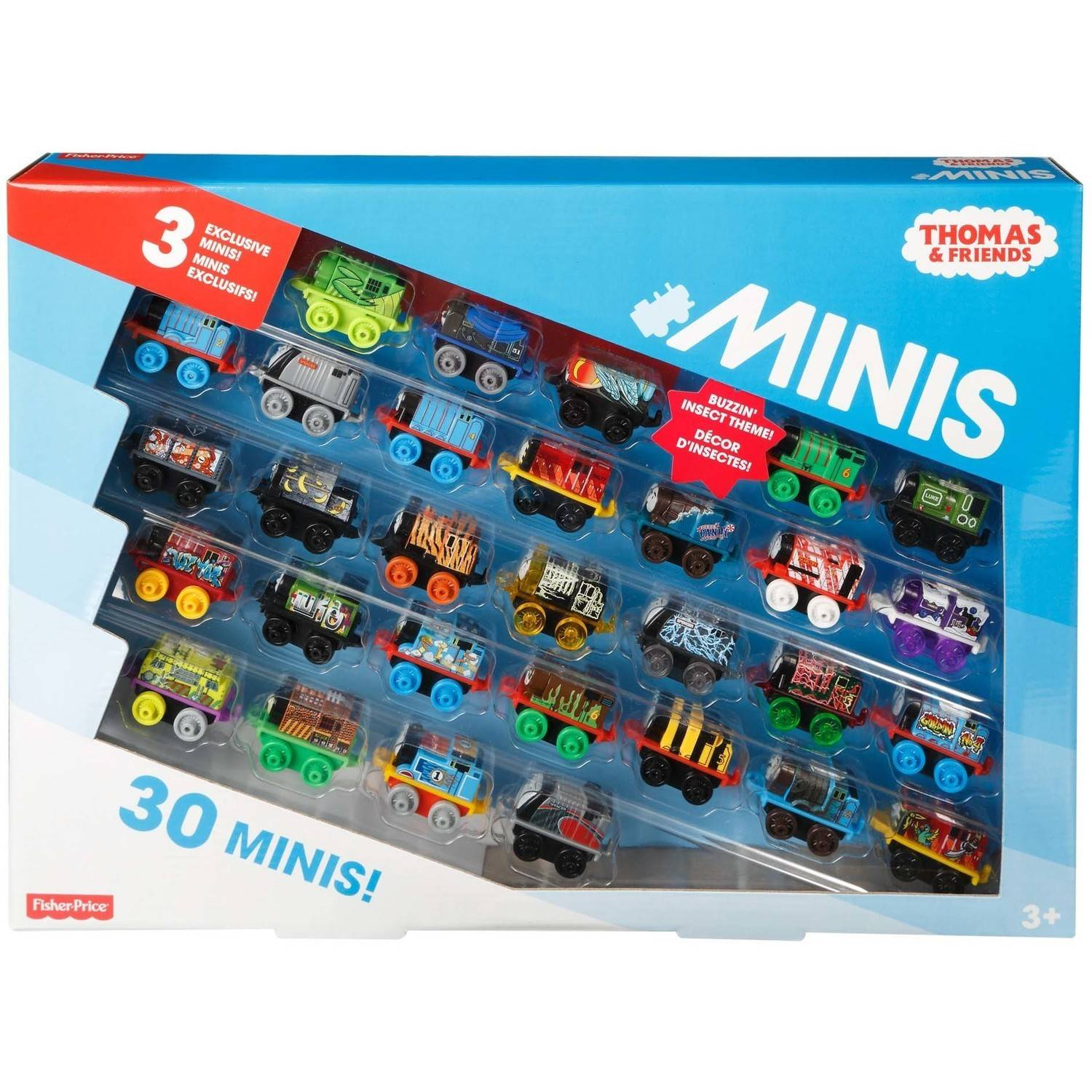 Thomas Minis *30 pack !*Exclusive Minis Hiro Insects Troublesome Truck *