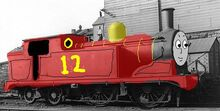 Raythetrainengine the red engine