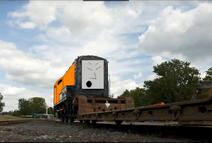 Snot Rod the orange diesel