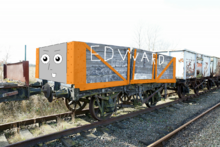 Edward the Rusty Coal Car