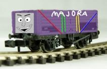 Majora the troublesome truck by thomas fan collector de2f4yw
