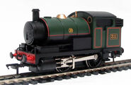 Blank Russel the small engine (Percy in Eli the tank engine)