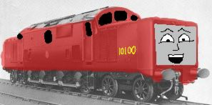 Tim the big red diesel engine by thomas fan collector de2agod