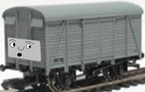 Troublesome van grey by thomas fan collector de2phcc