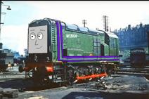 Wingo the green diesel