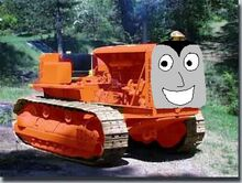 Trainmadpaul the tractor